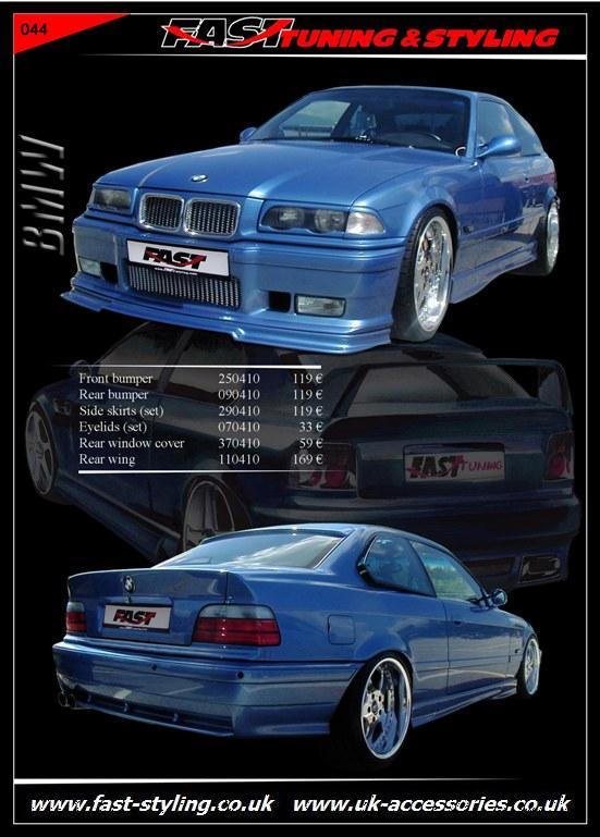 Body Kit Bmw E36 Bmw E36 Blue iv Body Kit