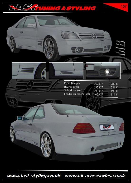 Uk accessories ltd mercedes benz s140 coupe body kit for Mercedes benz accessories catalog